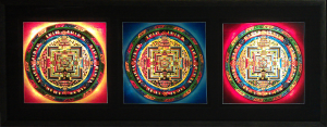 Lighted Mandalas