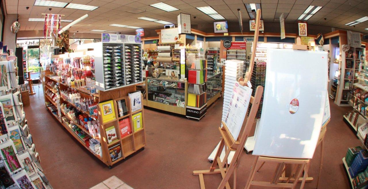 Village art supply for Craft store santa rosa